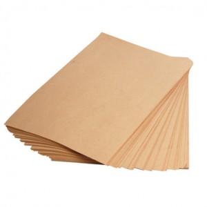 Rudas popierius lapais