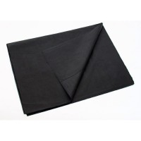 Juodas premium šilkinis popierius (lapais)