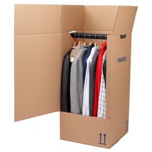 Kartoninė dėžė rūbams
