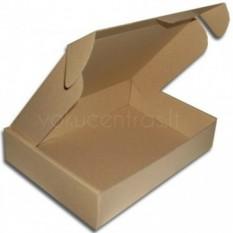 Dėžė S dydžio paštomatams 360x280x75 mm, ruda
