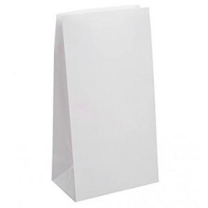 Popieriniai maišeliai maistui | Balti